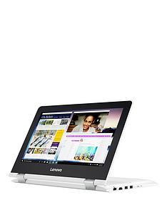 lenovo-yoganbsp300-11ibr-intelreg-celeronreg-4gb-ramnbsp500gb-hard-drive-116-inchnbsptouchscreen-2-in-1-laptop-white