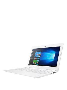 lenovo-ideapad-110s-11ibr-intelreg-celeronreg-processor-2gb-ram-32gb-emmc-ssd-116in-laptop-including-microsoft-office-with-optional-mcafee-livesafe--white