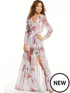 myleene-klass-floral-deep-v-front-maxi-dress