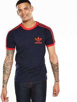 adidas originals california t shirt navy