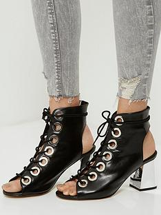 river-island-river-island-eyelet-lace-up-shoe-boot-w-sprayed-heel