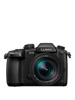 panasonic-dc-gh5leb-k-lumix-compact-system-mirrorless-camera-with-12-60mm-leica-lens-black