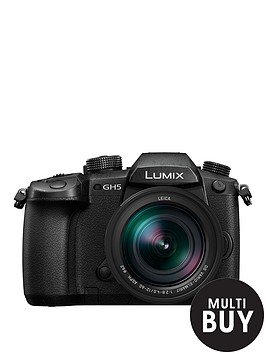 panasonic-dc-gh5leb-k-lumix-compact-system-mirrorless-camera-with-12-60mm-leica-lens-black