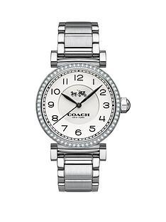 coach-madison-fashion-white-dial-silver-tone-bracelet-ladies-watch