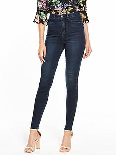 v-by-very-addison-high-waisted-super-skinny-jean-blueblack