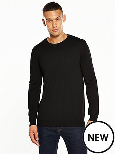 v-by-very-crew-neck-jumper-black
