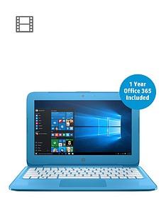 hp-stream-11-y000na-intel-celeron-n3060nbspprocessor-2gb-ram-32gb-storage-116-inch-laptop-with-1-year-microsoft-office-365-included