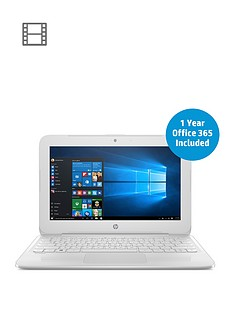 hp-stream-11-y003na-intel-celeron-n3060nbspprocessor-2gbnbspram-32gbnbspstorage-116-inch-laptop-with-1-year-office-365-includednbsp--white