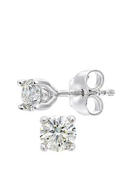 love-diamond-18ctnbspwhite-gold-50-point-diamond-solitaire-earrings