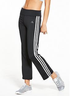 adidas-3-stripe-brushed-pants-black