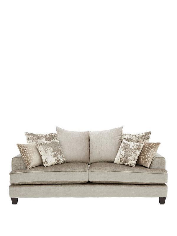 - Opal 3-Seater Fabric Sofa