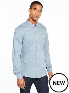 v-by-very-mens-long-sleeved-checkednbspshirt