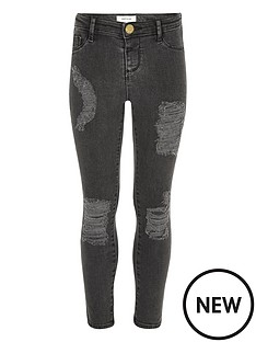 river-island-girls-black-washed-molly-ripped-jeggings