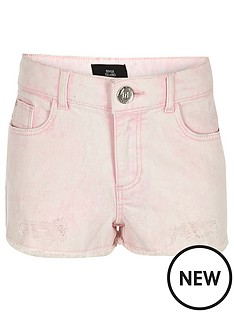 river-island-girls-pink-denim-boyfriend-shorts