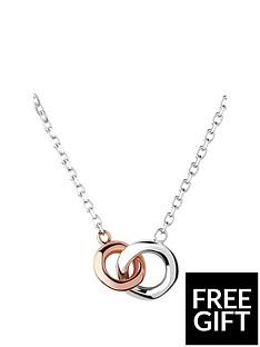 links-of-london-2020-sterling-silver-amp-18kt-rose-gold-mini-necklace