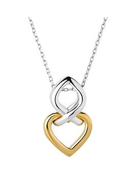 links-of-london-infinite-love-sterling-silver-and-18kt-gold-vermeil-necklace