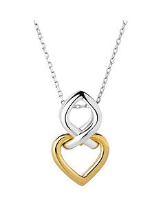 links-of-london-infinite-love-sterling-silver-and-18kt-gold-vermeil-necklacenbsp