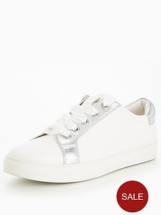 v-by-very-street-metallic-trainer-white