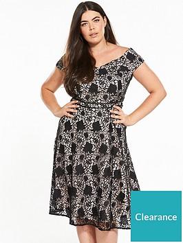 v-by-very-curve-curve-lace-bardot-dress