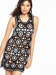 v-by-very-mono-crochet-beach-dress