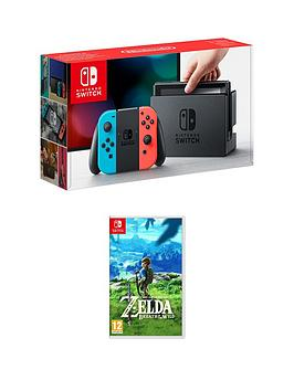 nintendo-switch-neon-red-neon-blue-console-with-legend-of-zelda-breath-of-the-wild