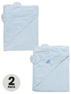 ladybird-baby-boys-2pk-bear-towels