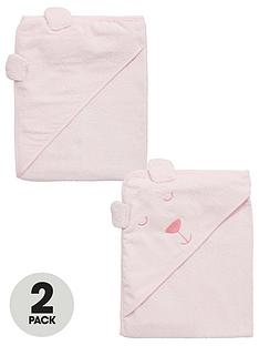 ladybird-baby-girls-2pk-bear-towels