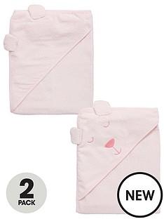 ladybird-baby-girls-2pk-bear-towels