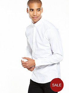 selected-homme-long-sleeve-over-head-shirt