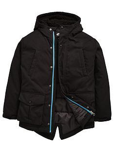 animal-boys-hooded-fleece-lined-longline-parka