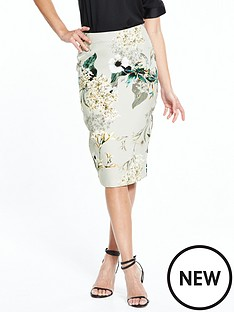 river-island-printed-grey-pencil-skirt