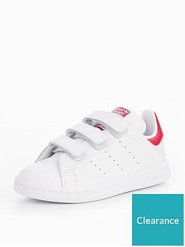 adidas-originals-stan-smith-cf-childrens-trainer-whitepink