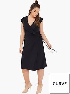 girls-on-film-curve-curve-wrap-front-dress-black