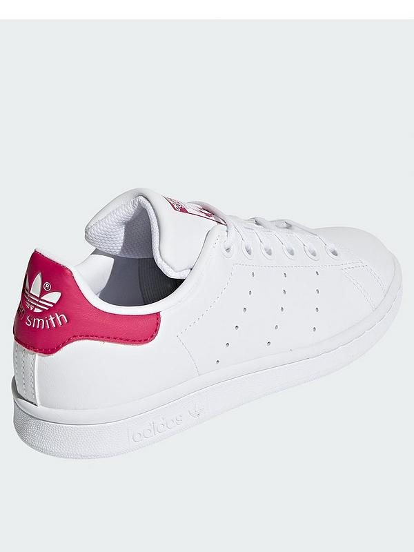 best quality 7eba5 3dc7a Stan Smith Junior Trainer - White/Pink