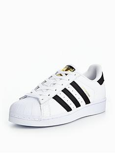 cabb09dec2119 adidas Originals Superstar Junior Trainer - White