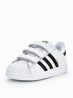 adidas Originals Superstar Infant Trainer - White 41f33668e