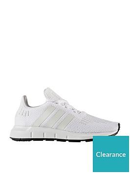 026eec247a9b7 adidas Originals Swift Run Childrens Trainer - White ...