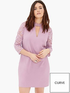 girls-on-film-curve-lace-sleeve-shift-dress