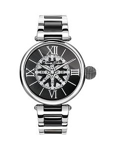 thomas-sabo-karma-womens-watch-black-dial-two-tone-stainless-steel-bracelet