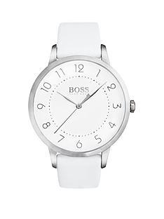 hugo-boss-black-hugo-boss-black-eclipse-white-dial-white-leather-strap-ladeis-watch