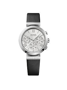 hugo-boss-black-hugo-boss-black-classic-sport-multi-dial-black-leather-strap-ladies-watch