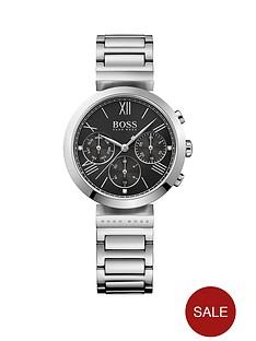 boss-hugo-boss-black-classic-sport-black-multi-dial-stainless-steel-bracelet-ladies-watch