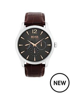 hugo-boss-black-hugo-boss-black-commander-grey-chronogrpah-dial-brown-leather-strap-mens-watch