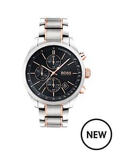 hugo-boss-black-hugo-boss-black-grand-prix-black-chronograph-dial-two-tone-stainless-steel-mens-watch