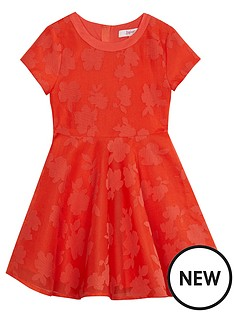baker-by-ted-baker-neon-coral-lace-prom-dress