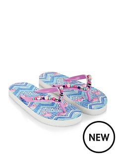 monsoon-monsoon-tribal-flamingo-beaded-flip-flop