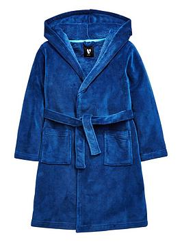 cfca5d3e6a V by Very Boys Hooded Fleece Dressing Gown