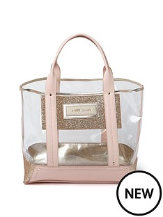river-island-glitter-perspex-beach-bag