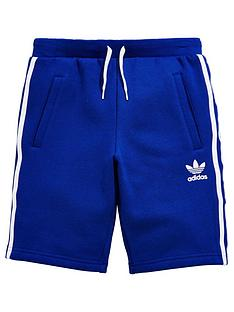 adidas-originals-older-boy-fleece-shorts