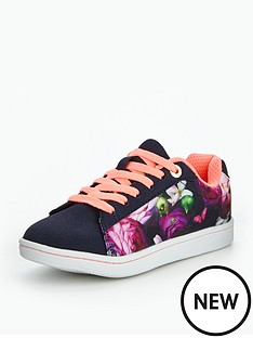 baker-by-ted-baker-girls-floral-lace-up-tennis-trainers